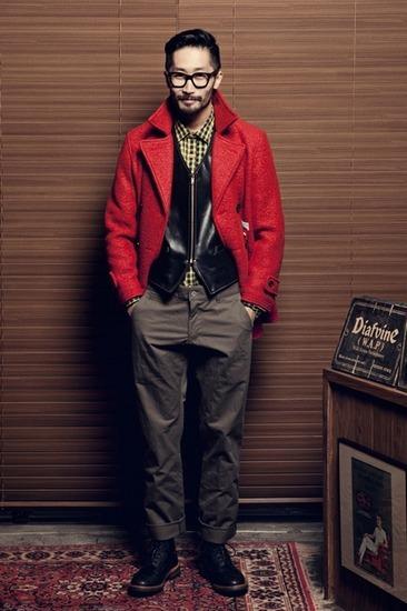 Корейская марка Diafvine выпустила лукбук осенней коллекции одежды. Изображение № 2.