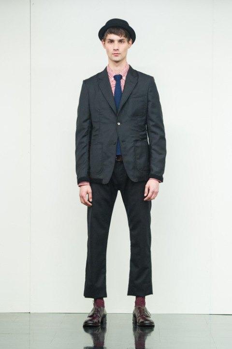 Марка Comme des Garçons Homme опубликовала лукбук новой коллекции. Изображение № 16.