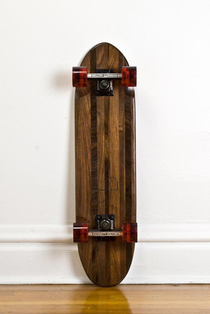 Дизайнер Джейк Эшелман выпустил коллекцию скейтбордов ручной работы. Изображение № 9.