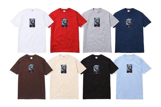 Марка Supreme представила коллекцию футболок и дек для скейтов к 20-летию компании. Изображение № 2.