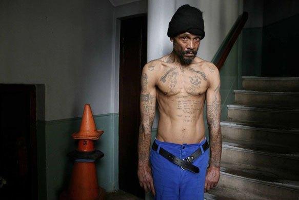 Южноафриканские тюремные банды и их татуировки. Изображение № 7.