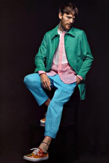Марка Sophnet выпустила лукбук весенней коллекции одежды. Изображение № 4.