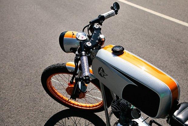 Американская мастерская Analog Motorcycles представила кастомный мотоцикл Riverside Racer. Изображение № 4.