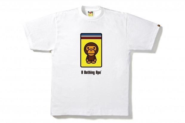 Марка A Bathing Ape и компания Ferrari представили совместную коллекцию одежды. Изображение № 8.