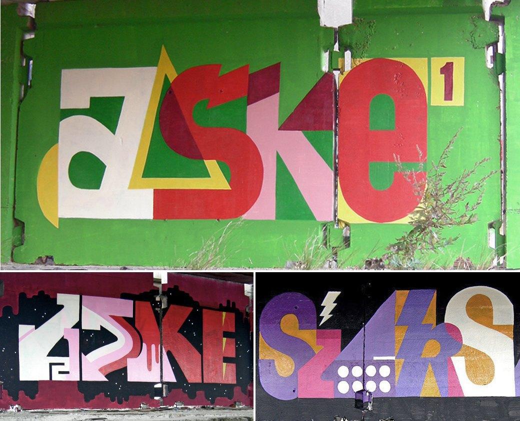 Стена славы: Граффити-карта Москвы. Изображение № 27.