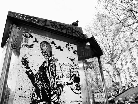 Новая работа уличного художника WK Interact. Изображение № 2.