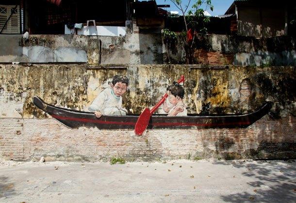 Граффити-художник из Литвы выпустил фильм об уличном искусстве в Малайзии. Изображение № 13.