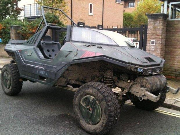 Англичанин превратил Land Rover в бронемобиль из игры Halo. Изображение № 1.