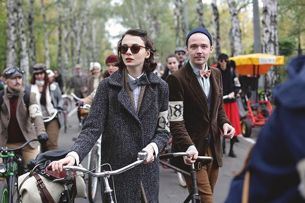 Детали: Репортаж с велозаезда Tweed Ride Moscow. Изображение №3.