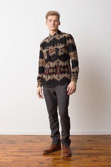 Марка Pendleton выпустила лукбук осенней коллекции одежды. Изображение № 15.