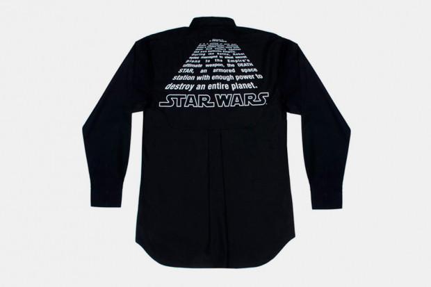 Марка Comme des Garcons Shirt выпустила коллекцию одежды по мотивам фильма «Звездные войны». Изображение № 4.