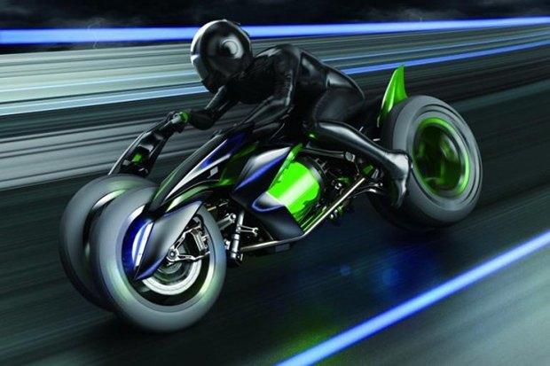 Kawasaki представили новый мотоцикл-трансформер. Изображение № 8.
