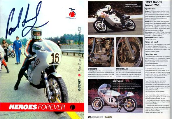 История мотоцикла Ducati 750 Imola. Изображение № 3.
