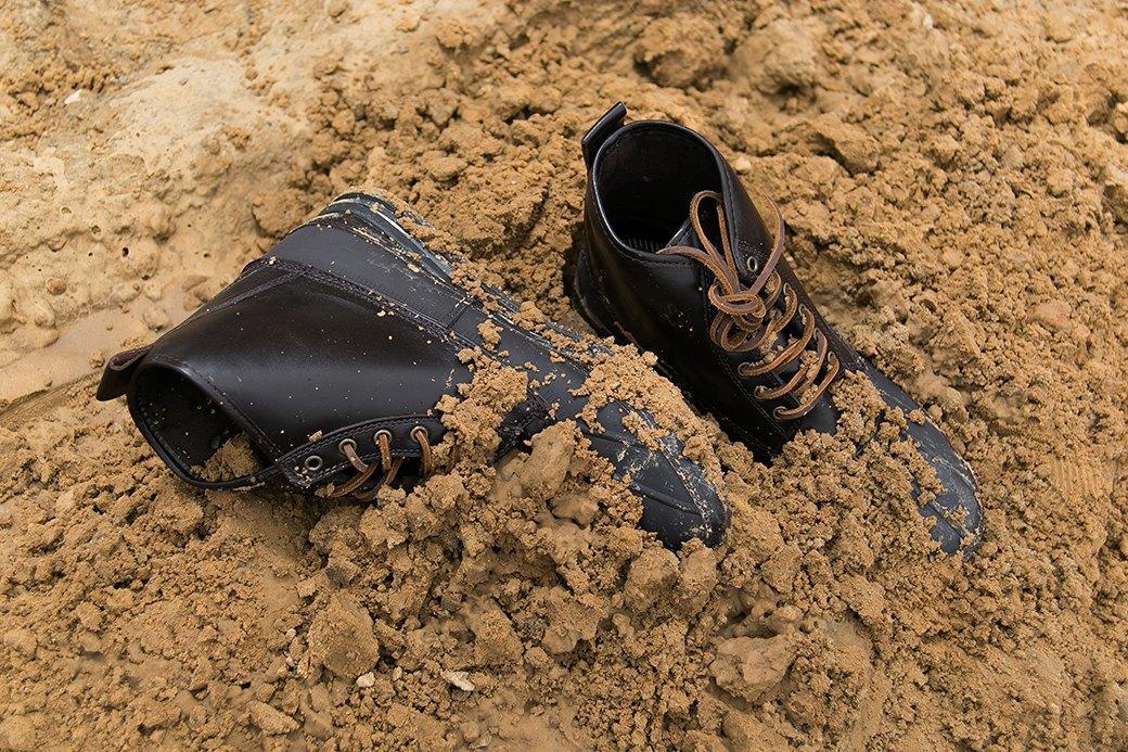 Ревизия: Непромокаемые ботинки в московской грязи. Изображение № 2.
