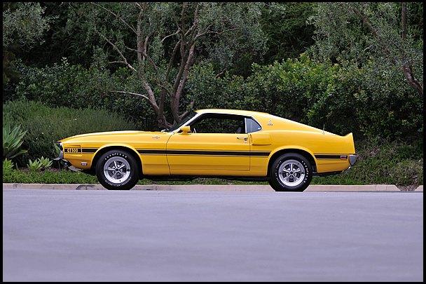 Маслкар Shelby GT500, принадлежавший своему создателю Кэроллу Шелби, выставлен на аукцион. Изображение № 3.