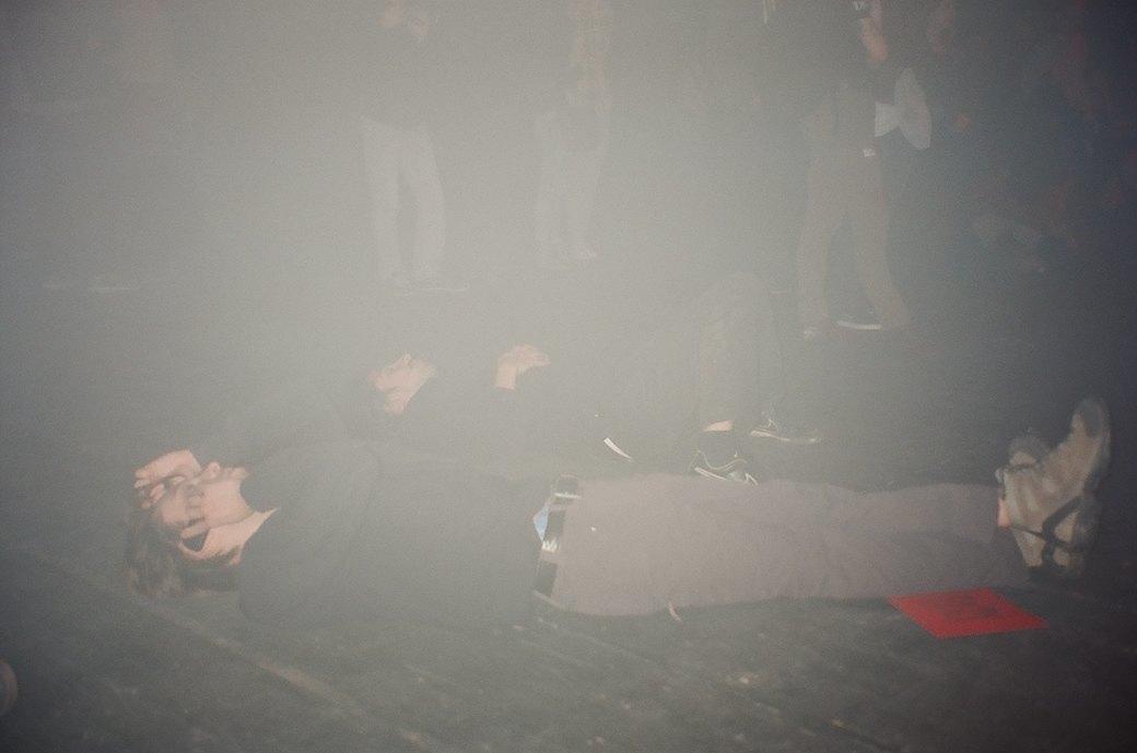 Фоторепортаж: Концерт «Панк-фракции красных бригад» в театре имени Вс. Мейерхольда. Изображение № 10.