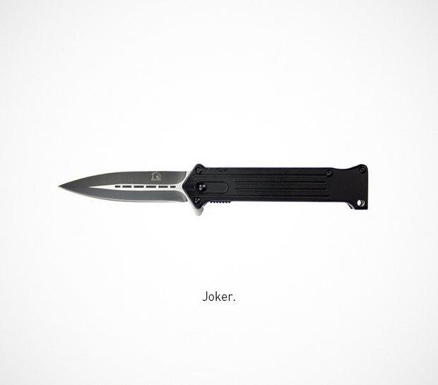 Итальянский дизайнер представил коллекцию ножей знаменитых персонажей. Изображение № 52.