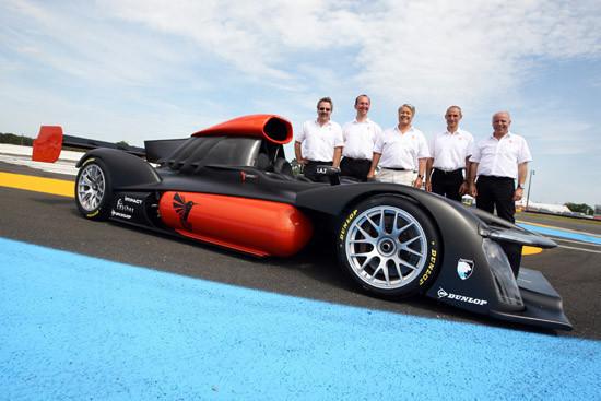 В гонке «24 часа Ле-Мана» выступит первый в мире водородный гоночный болид. Изображение № 1.