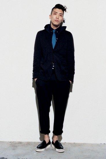 Марка Sophnet опубликовала лукбук весенней коллекции одежды. Изображение № 12.