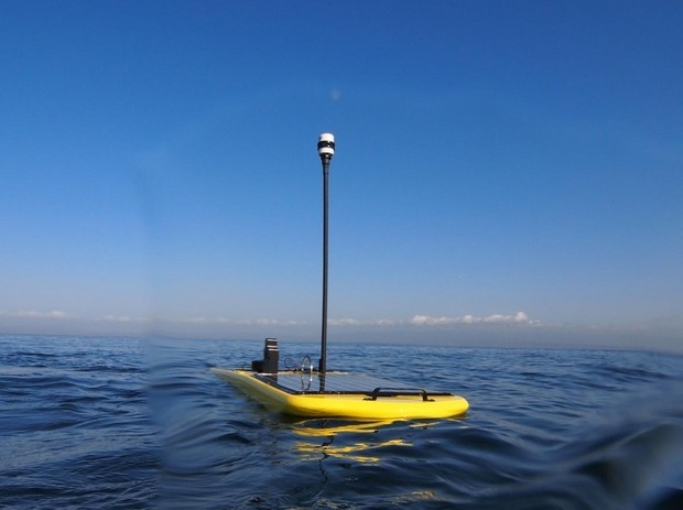 Плавучий робот добрался от берегов Америки до Австралии. Изображение № 1.