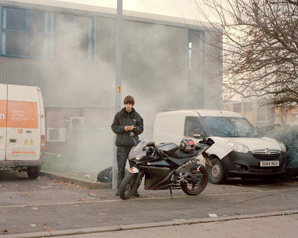 Фотопроект: Лондонские гопники и их мотоциклы. Изображение № 2.
