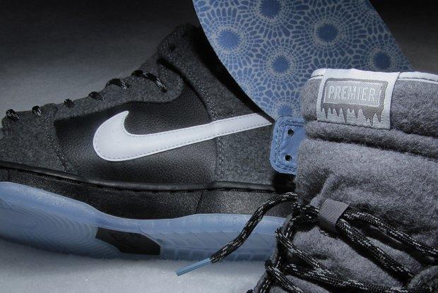 Магазин Premier и марка Nike выпустила совместную модель обуви SB Dunk Hi Premier SE. Изображение № 8.