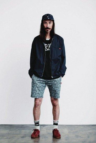 Марка Stussy опубликовала лукбук весенней коллекции одежды. Изображение № 2.