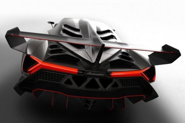 Lamborghini представили юбилейный суперкар Veneno. Изображение № 5.
