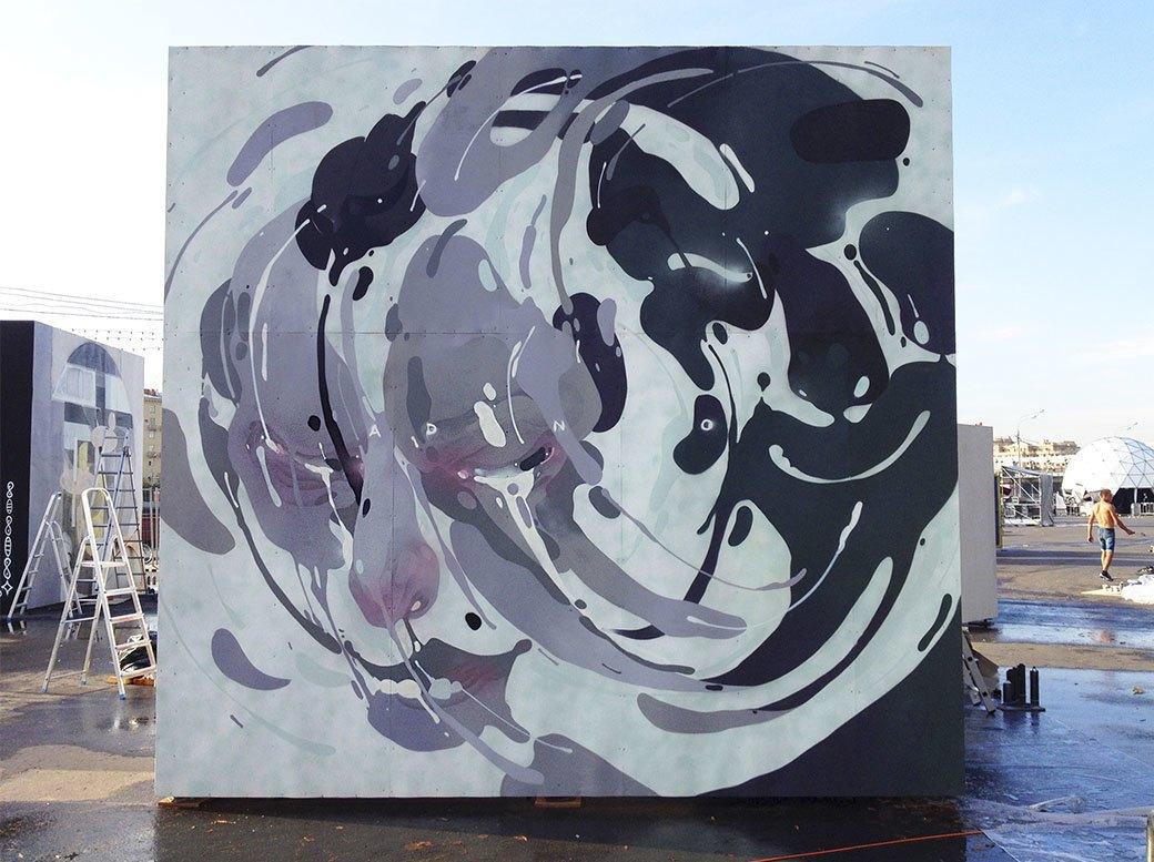 FURFUR представляет альманах российского стрит-арта Wall Elements и интервью с художником Adno. Изображение № 2.