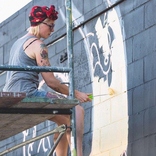 Гавайский фестиваль граффити Pow! Wow! в Instagram-фотографиях участников. Изображение № 5.