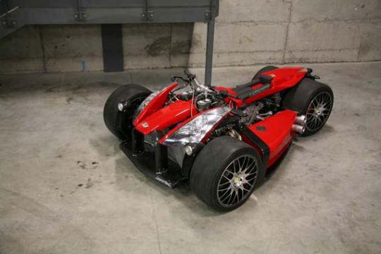 Квадроцикл с мотором Ferrari компании Ludovic Lazareth. Изображение № 6.