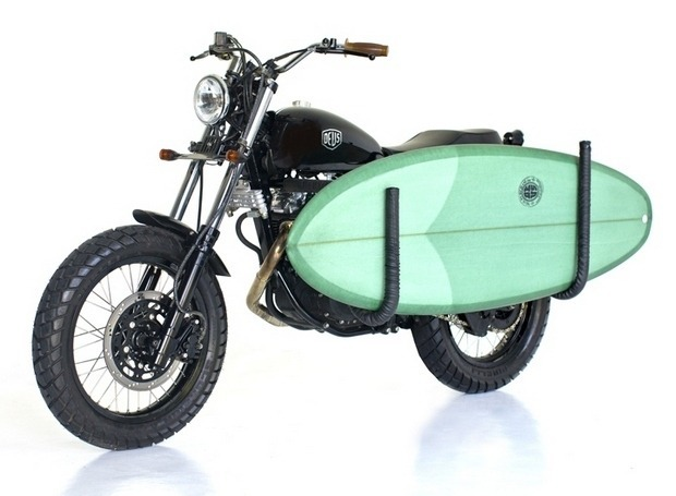 Мастерская Deus Ex Machina выпустила кастомный мотоцикл на базе Suzuki DR650. Изображение № 4.