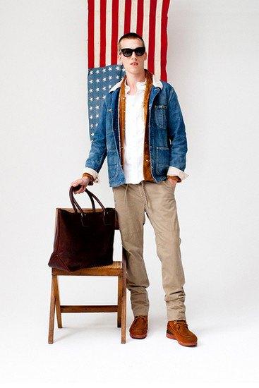 Японская марка Visvim опубликовала лукбук весенней коллекции одежды. Изображение № 22.