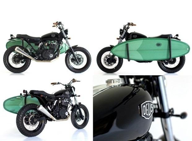 Мастерская Deus Ex Machina выпустила кастомный мотоцикл на базе Suzuki DR650. Изображение № 13.