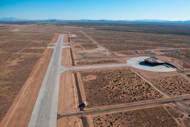 В Нью-Мексико построен первый в мире частный космопорт. Изображение № 3.