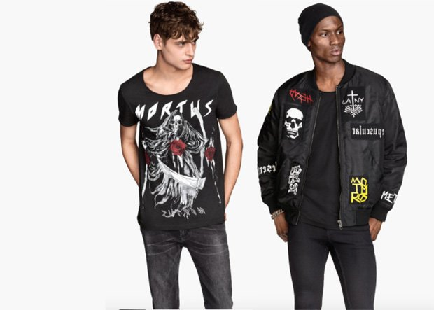 H&M посвятили коллекцию метал-группам, которые сами же и выдумали. Изображение № 1.