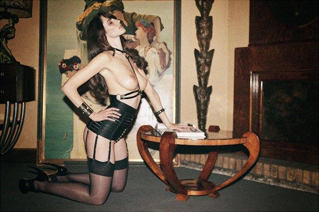 Чилийская модель Хамира Зулогада снялась в рекламе нижнего белья Mise en Cage. Изображение № 6.