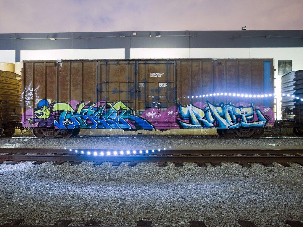 True 2 Death: Блог о разрисованных поездах из Южной Калифорнии. Изображение № 11.