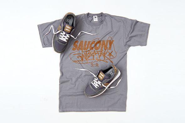 Кроссовки Saucony x Anteater и футболка (комплект — 2499 руб.). Изображение № 32.
