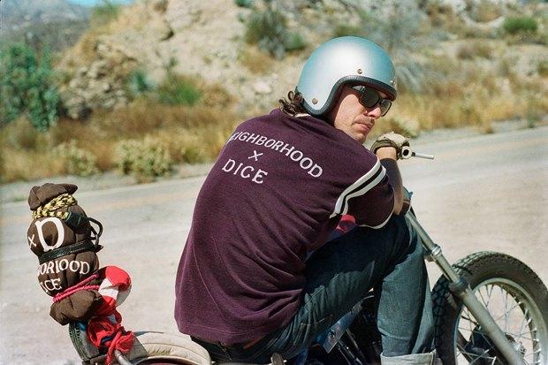 Марка Neighborhood и журнал Dice Magazine выпустили совместную коллекцию одежды . Изображение № 12.
