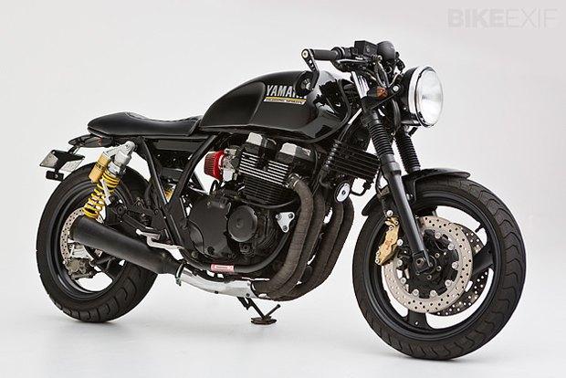 Мастерская Ellaspede представила новый кастом на базе мотоцикла Yamaha XJR400. Изображение № 1.