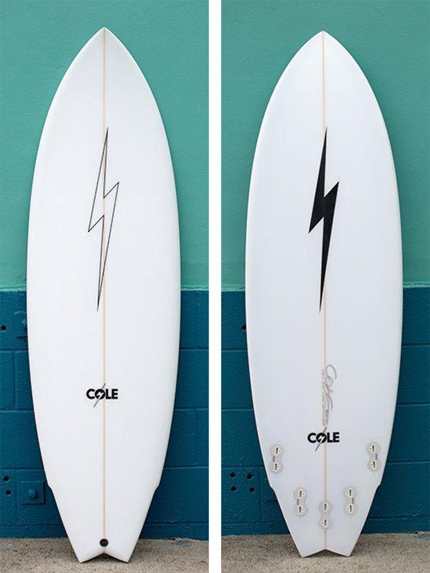 Вышла лимитированная коллекция сёрфов Lightning Bolt x Cole Surfboards . Изображение № 1.