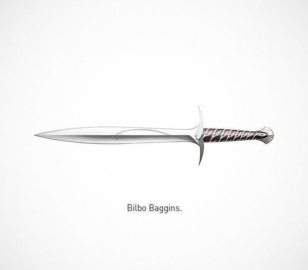 Итальянский дизайнер представил коллекцию ножей знаменитых персонажей. Изображение № 27.
