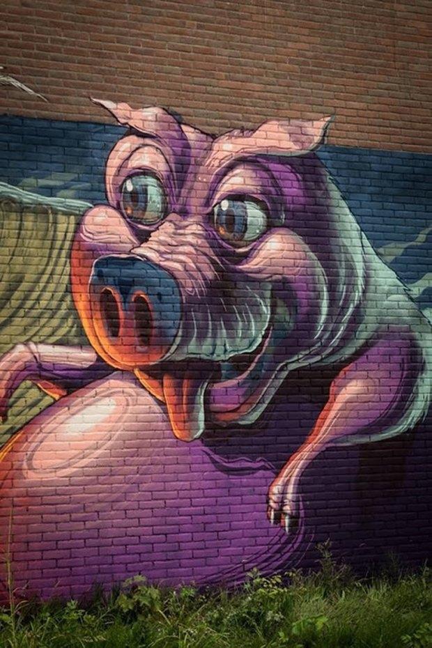 Google Street Art: Онлайн-музей граффити под открытым небом. Изображение № 45.