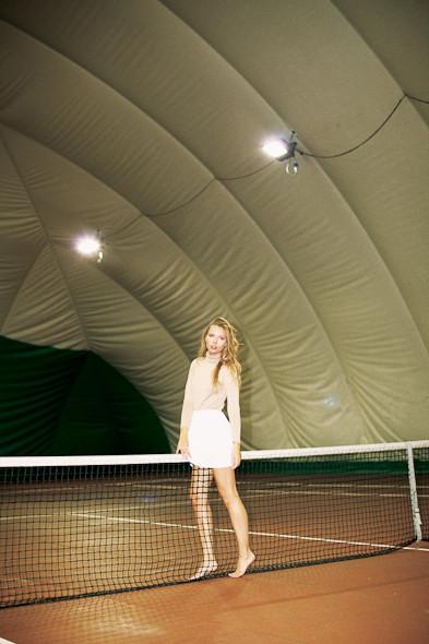 Классические формы: Теннисистка. Изображение № 10.