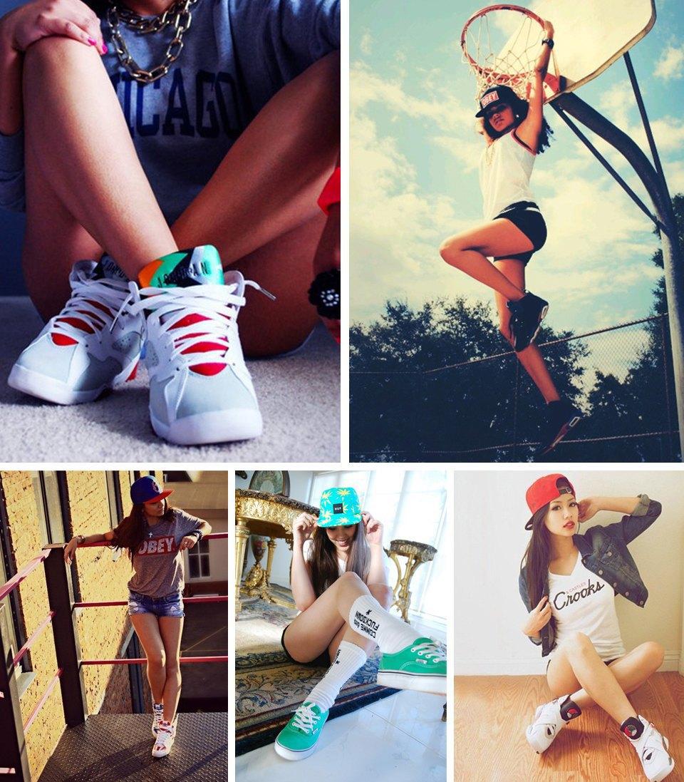 Sneaker porn: 10 Tumblr-блогов с красивыми девушками в кроссовках. Изображение № 10.