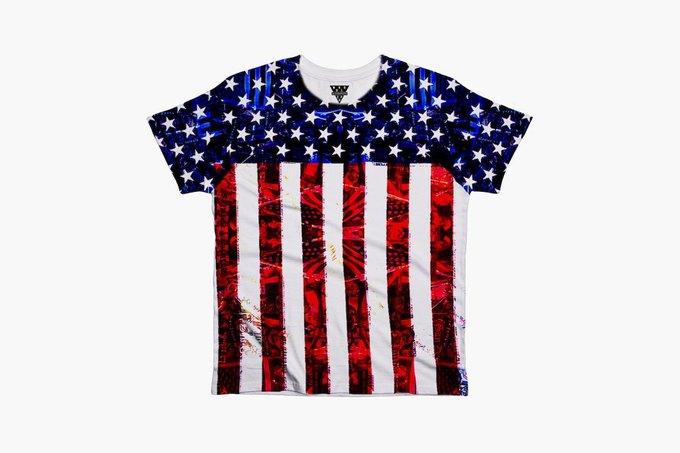 Марка Eleven Paris к чемпионату мира по футболу представила коллекцию футболок. Изображение № 1.