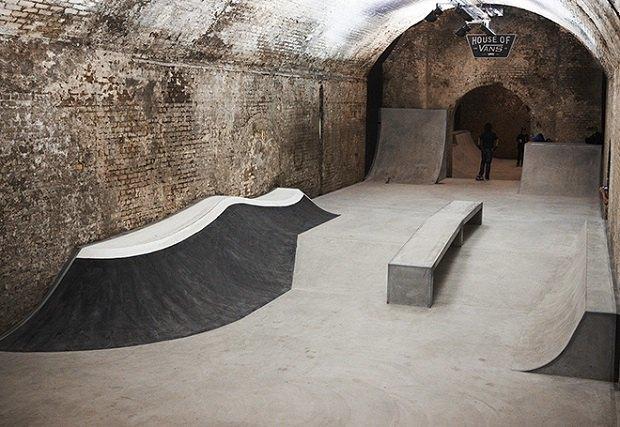 В Лондоне открылся большой скейт-парк The House of Vans. Изображение № 4.