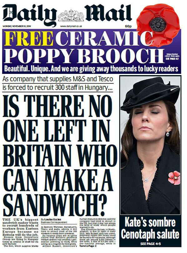 Как The Daily Mail спровоцировали «бутербродный флешмоб». Изображение № 1.