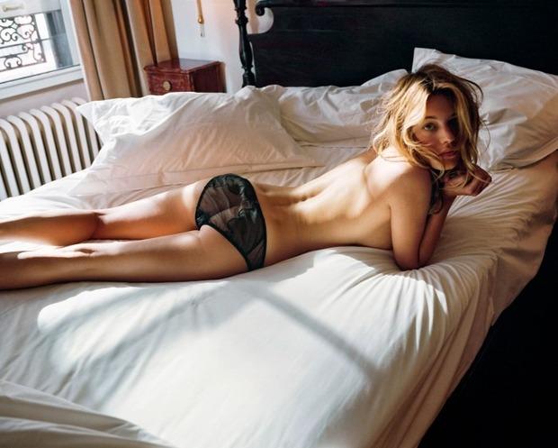 Французская модель Камиль Роу снялась у фотографа Памелы Хэнсон. Изображение № 2.
